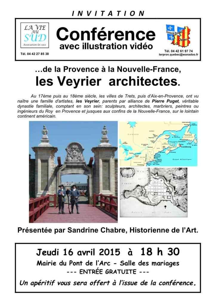 affiche conférence  Veyrier Aix.