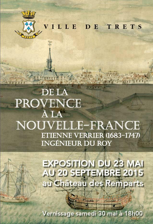 Affiche expo Verrier